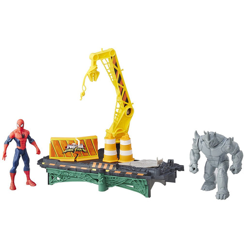 Marvel Spider-Man Rhino Rampage Play Set   Action figures