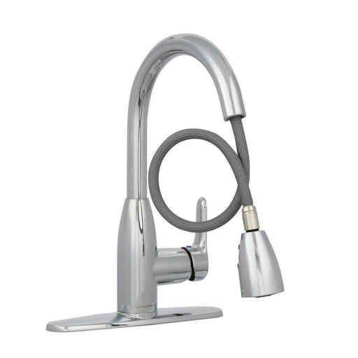 American Standard Fairbury Single-Handle Pull-Down Kitchen Chrome Faucet 4005F