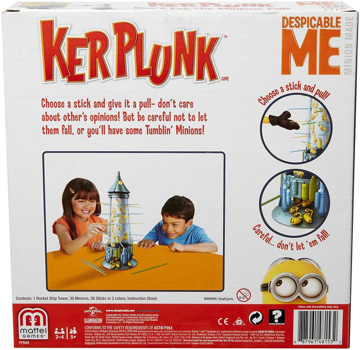 2016 Mattel Minions Kerplunk Despicable Me Game