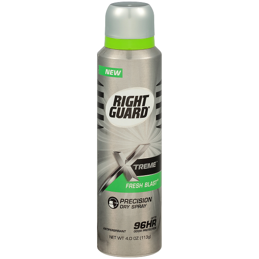 Right Guard Xtreme Antiperspirant Deodorant Dry Spray