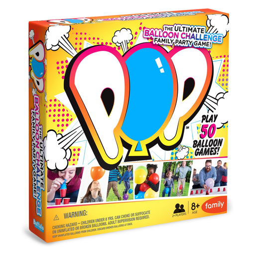 POP The Ultimate Balloon Challenge Family Party Game