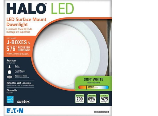 "Integrated LED Recessed Retrofit Ceiling Mount Light Fixture 90 CRI, 5""/6"" soft"