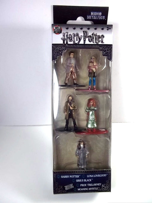 Jada Nano metalfigs 5 pack HARRY POTTER Pack B Luna Lovegood Moaning Myrtle NEW