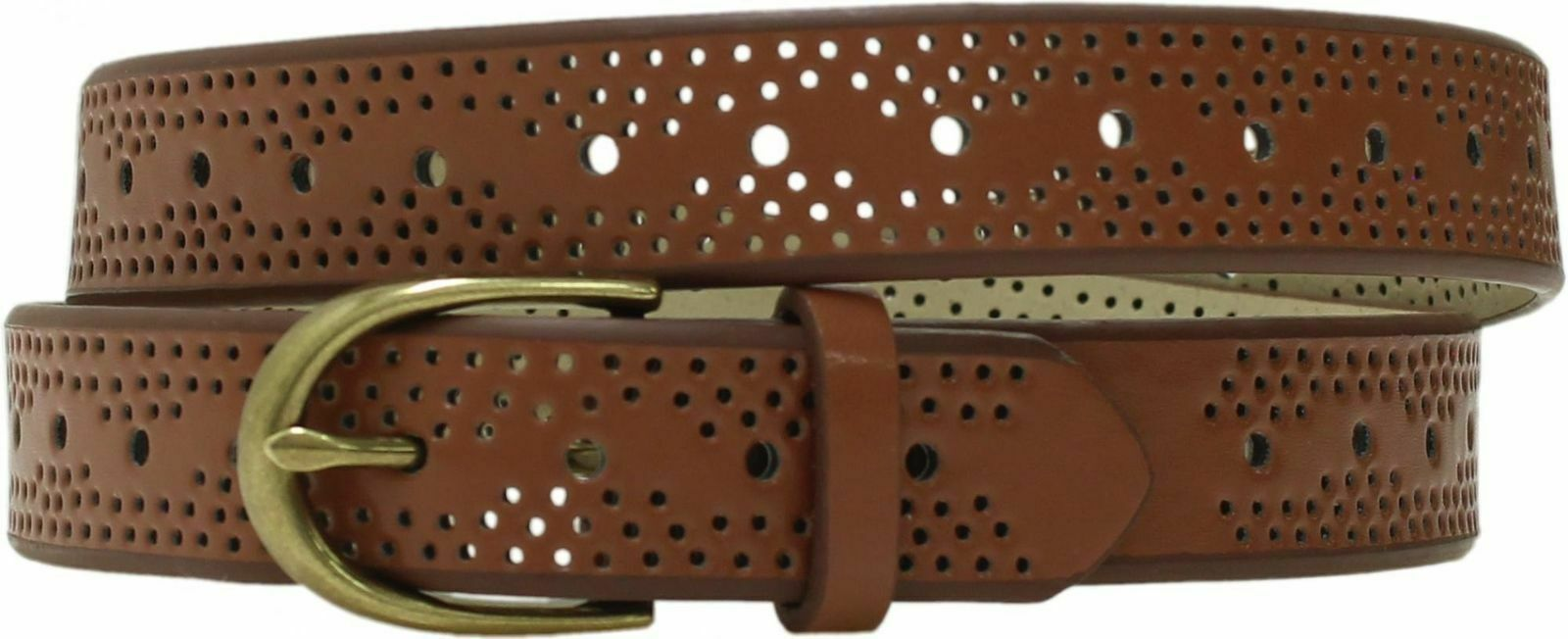 NEW* Mossimo Womens Narrow Perf Perforated Belt