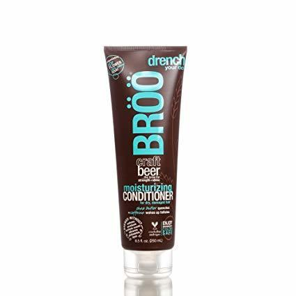 BRoo Craft Beer Moisturizing Conditioner Hop Flower 8.5 fl oz 250 ml