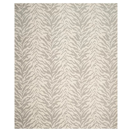 Light Gray/Ivory Tiger Woven Area Rug 8'x10'-Safavieh Brand New
