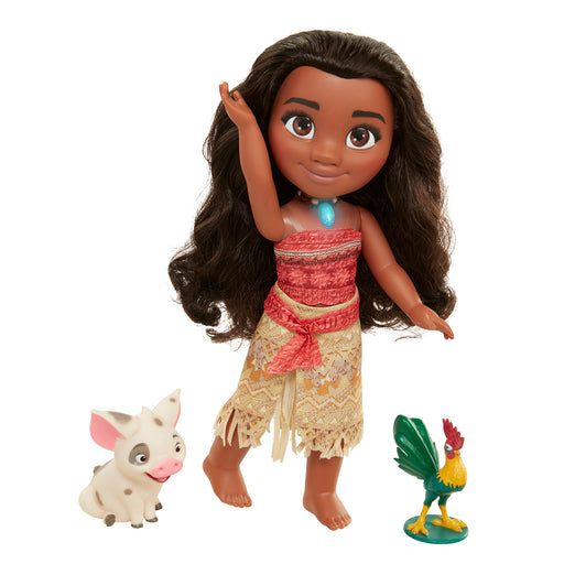 Disney Princess Moana Singing Doll includes Animal Friends Pua and Heihei