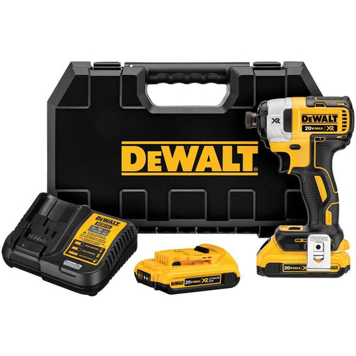 DEWALT 20-Volt MAX Lithium-Ion Cordless Brushless 1/4 in. 3-Speed Impact Driver