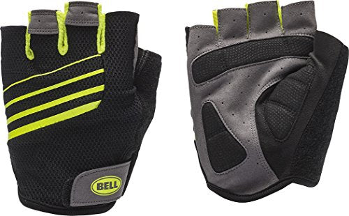 Bell Ramble 500 Half Finger Performance Cycling Gloves, Large/X-Large, Black/Hi Vis