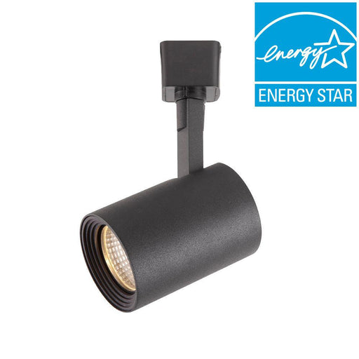 Hampton bay Black LED Dimmable Cylinder Track Lighting Head