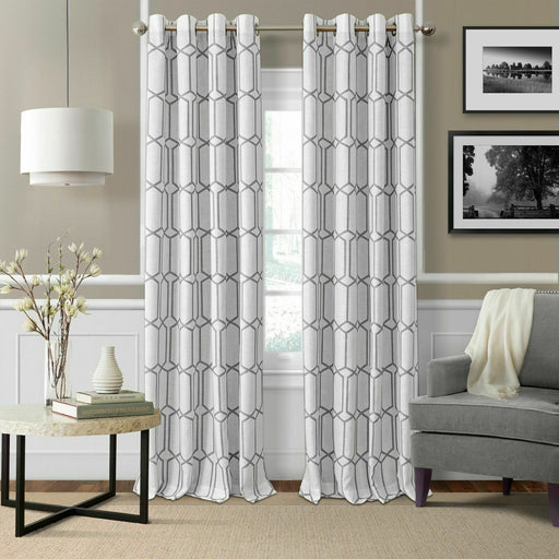 Elrene Kaiden Blackout Curtain Panel Gry (52in x 84in)