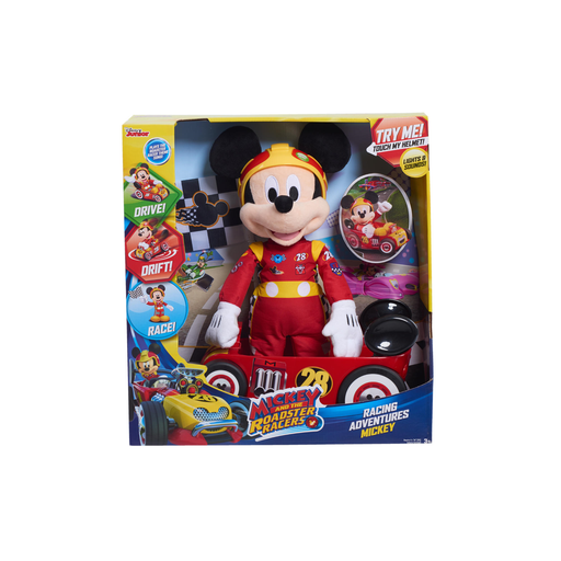 Disney Mickey & the Roadster Racers Racing Plush