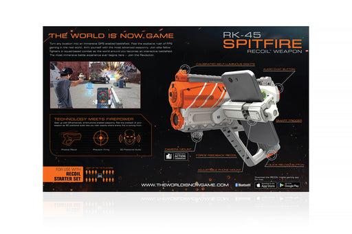 Recoil Laser Tag - RK-45 Spitfire Blaster powered by Skyrocket