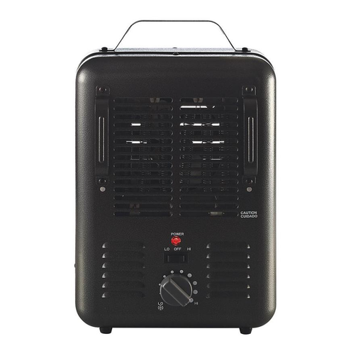 1500-Watt Utility Fan Utility Electric Space Heater