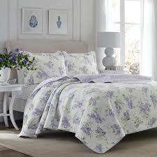 Purple Keighley Quilt Set - Laura Ashley (KING)