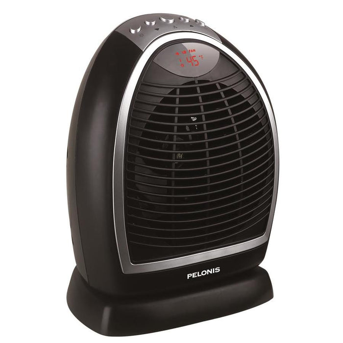 PELONIS 1500-Watt Fan Electric Space Heater