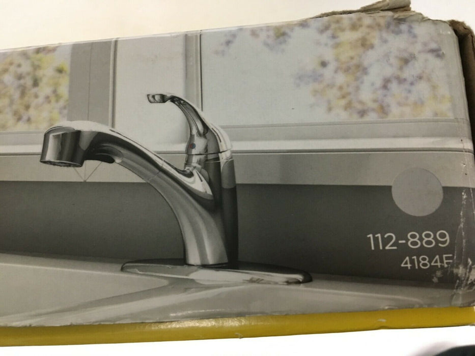 American Standard Jardin 112-889 4184F Pull-out kitchen faucet dual function spr
