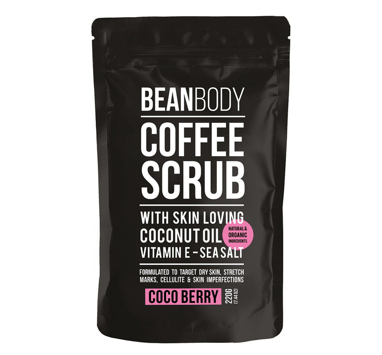 Bean Body Coffee Scrub - Coco Berry - 220g
