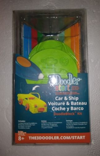 3Doodler Start DoodleBlock Kit SHIP & CAR NIB