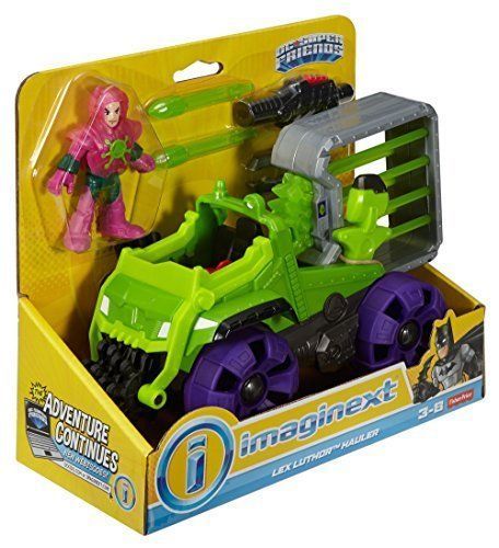 Imaginext DC Super Friends Super Hauler Lex Corp Durable Action Vehicle