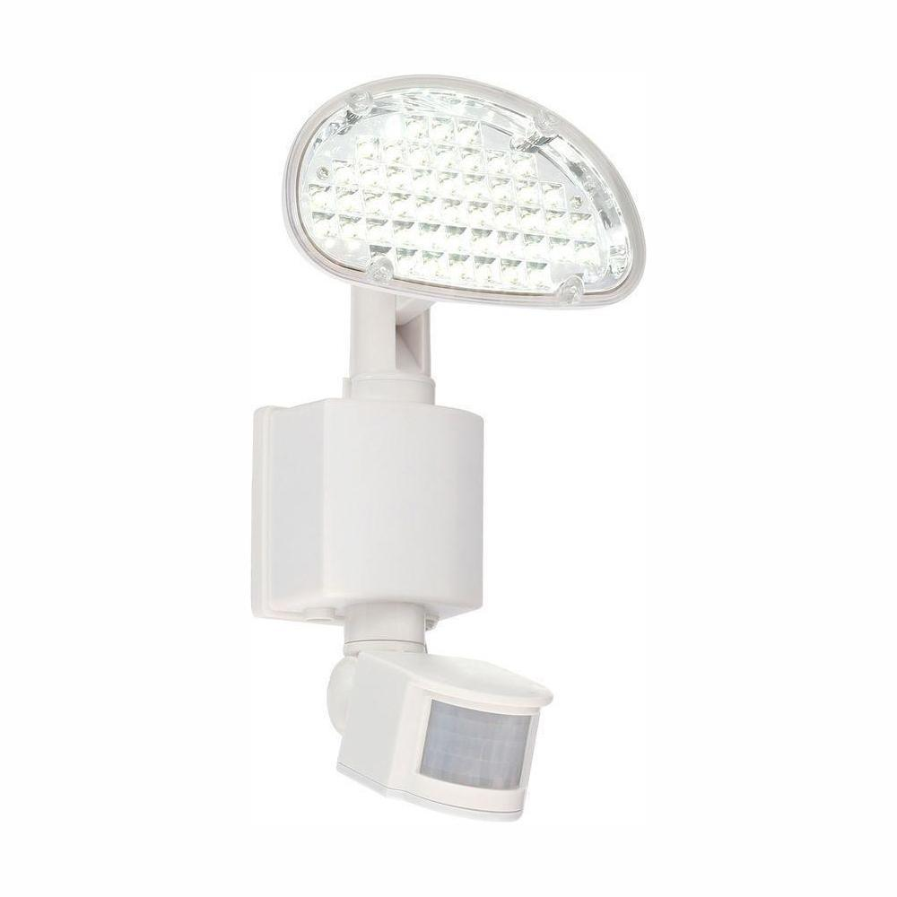Defiant Solar 48-Light 180° White Motion Activated Outdoor Integrated LED Area Light