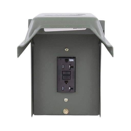 20 Amp Backyard Outlet with GFI Receptacle