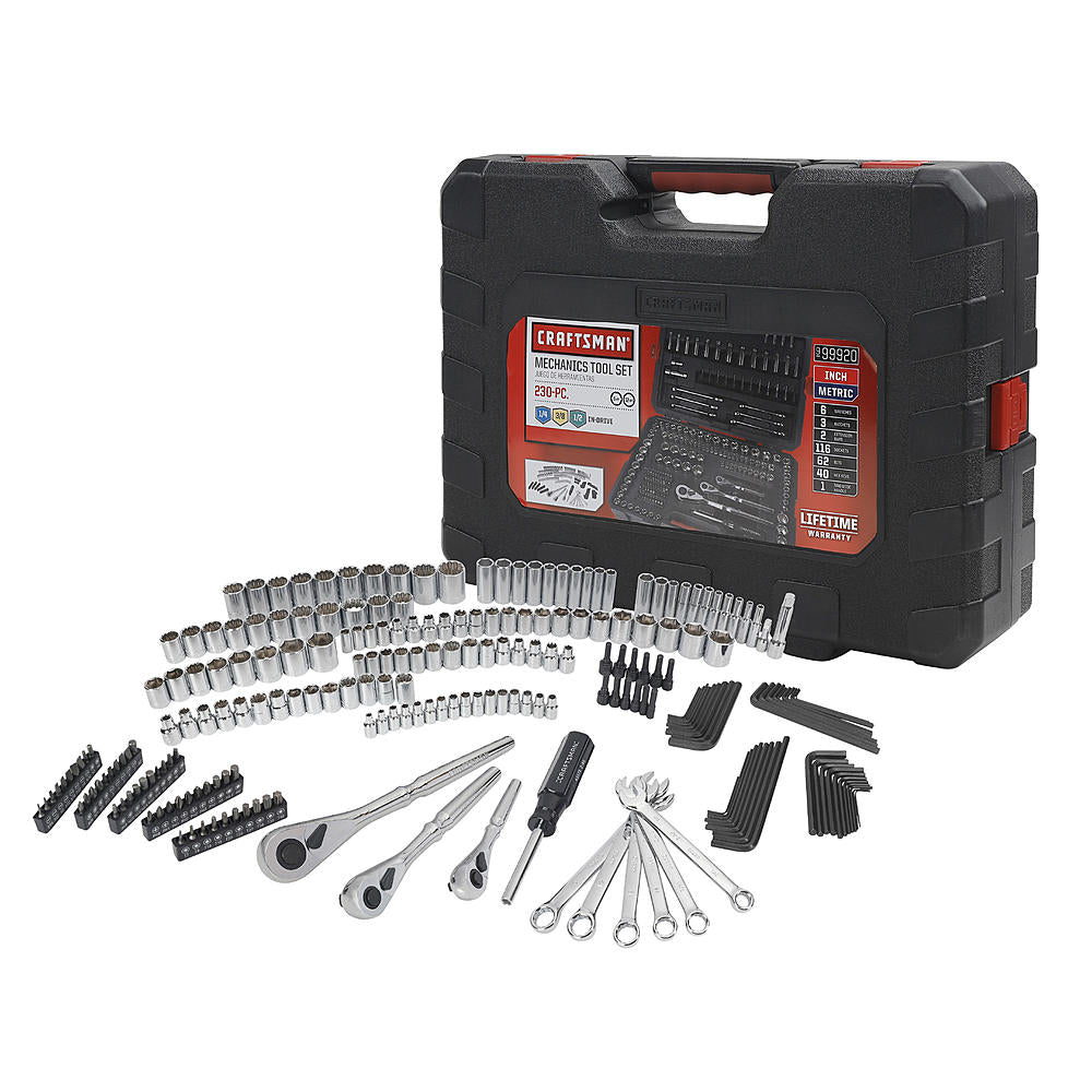 Craftsman 230 pc. Mechanic's Tool Set 70190