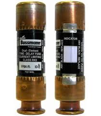 Bussman BP/FRN-R-20ID EasyID 20 amp Time Delay Cart Fuse
