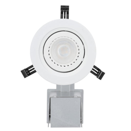 3 in. Matte White Recessed LED Gimbal Lighting Kit LK3GMW LED LPI M6