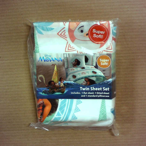 Disney Moana Twin Sheet Set 3 Piece Set
