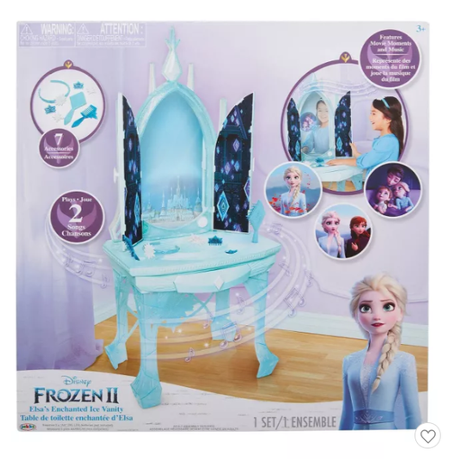 Disney Froze 2 Elsa's Enchanted Ice Vanity table
