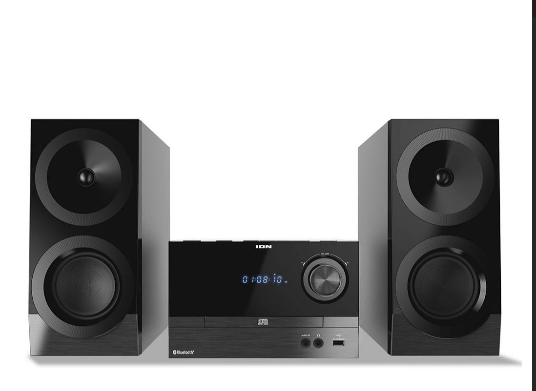 ION Audio Hi-Fi Stereo Shelf System with Bluetooth  Brand new  IAS01