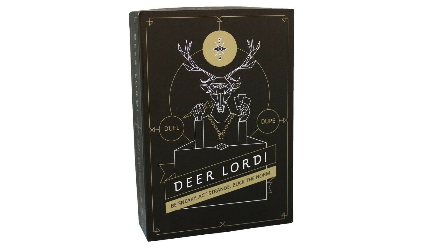 Deer Lord Board Game NEW Party Game