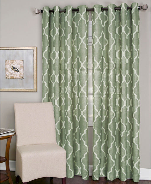 "Elrene Home Fashions Medalia Window Panel 52""W x 95""L 1 panel"
