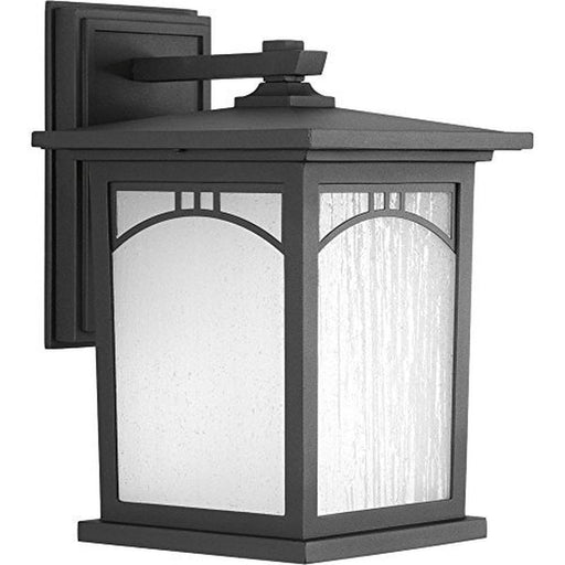 Progress Lighting Residence Collection 1-Light Outdoor 8 Inch Textured Black LED Wall Lantern (For Parts Only)