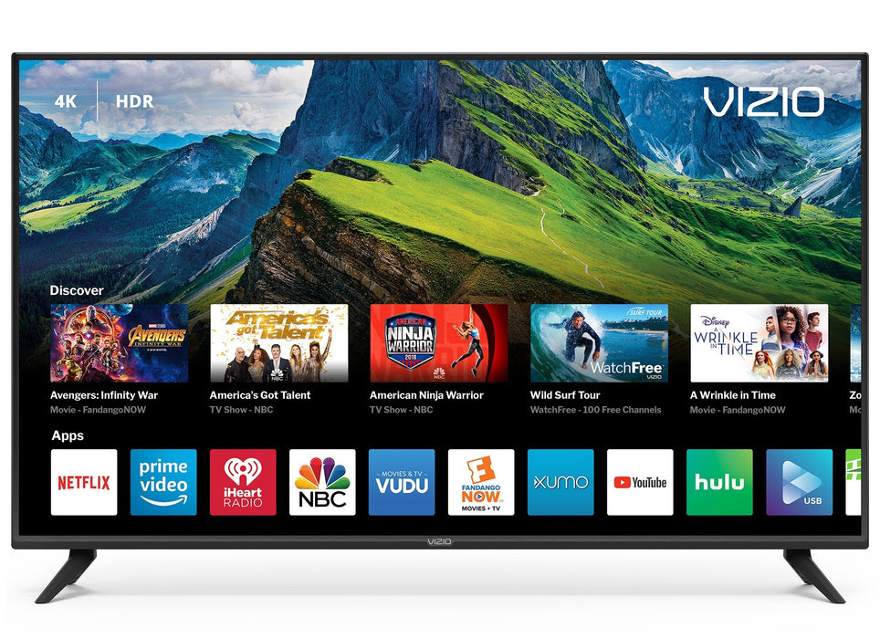 VIZIO 50 Inch LED 4K UHD HDR Smart TV - V505-G9