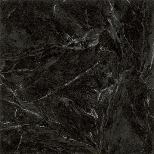 Traffic MASTER Black Marble 12 in. x 12 in. Peel and Stick Vinyl Tile (30 sq. ft. / case)