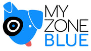 My Zone Blue logo and name.