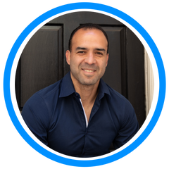 Blog author and owner of My Zone Blue Pedro Mejia, Ph.D.