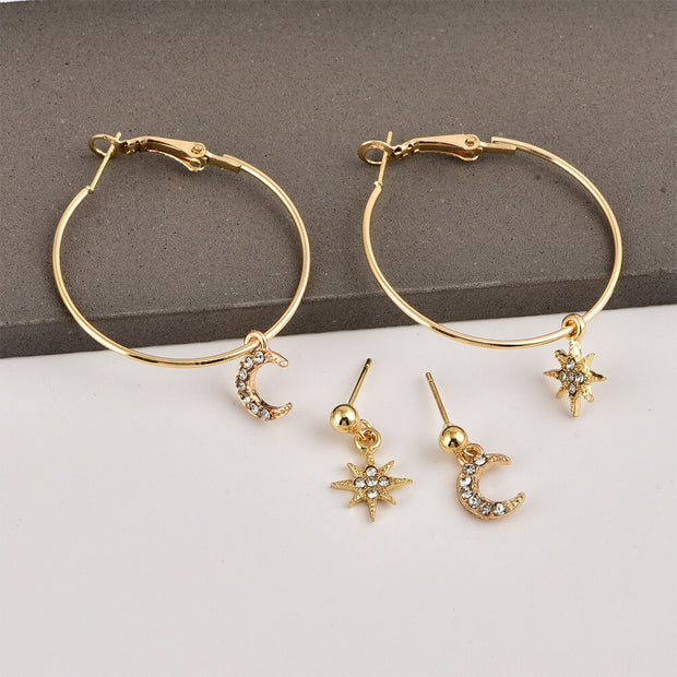 Shannon Star Earring Set