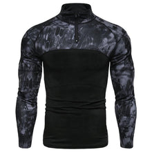 Carregar imagem no visualizador da galeria, Men's Military Battlefield Outdoor Fitness Camo T-Shirt