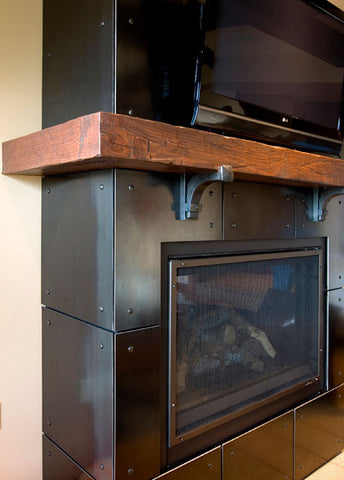 KIRO-7 Concept Home Fireplace
