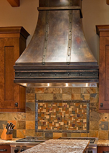 Hope Residence Range Hood 12th Avenue Iron Inc