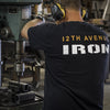 12th Avenue Iron Heavyweight T-Shirt (Back)