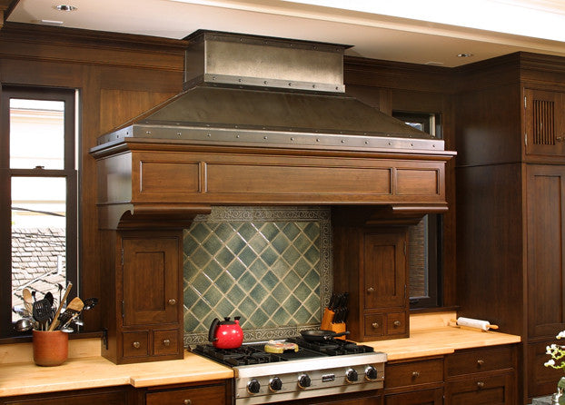 Almquist Residence Range Hood 12th Avenue Iron Inc