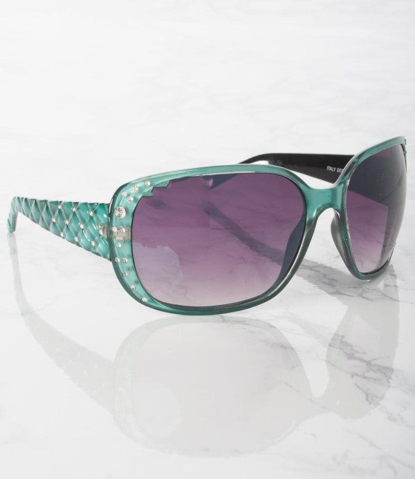 Bejeweled Gradient Sunglasses - Touch Me Textures