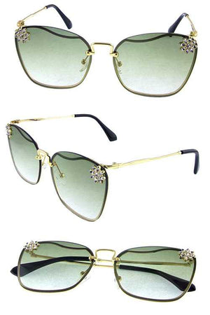 Jewels Gradient Sunglasses - Touch Me Textures