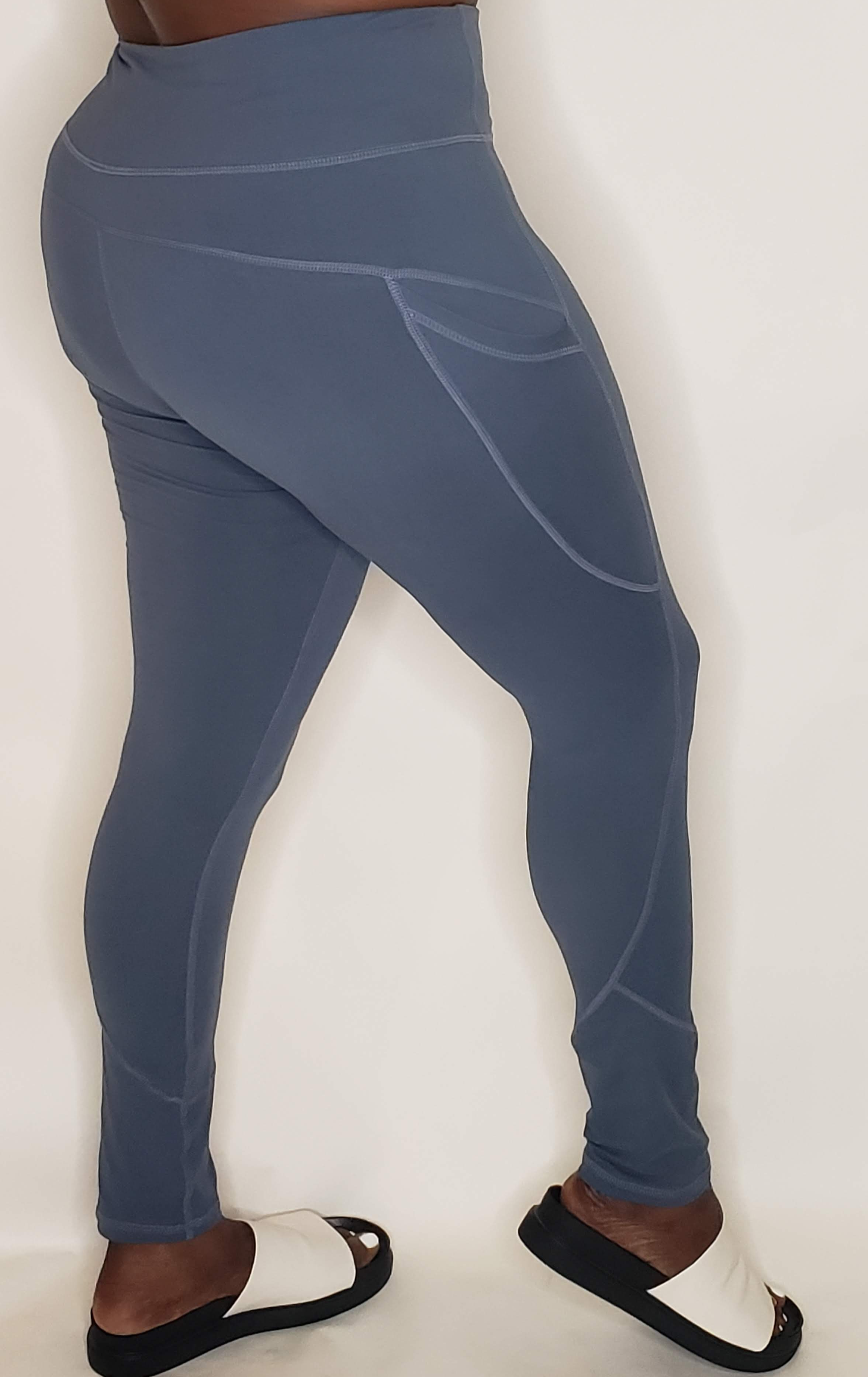 Code Blue Buttery Soft  Leggings - Touch Me Textures