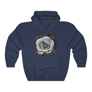 A Rose Unisex Heavy Blend™ Hooded Sweatshirt - Touch Me Textures