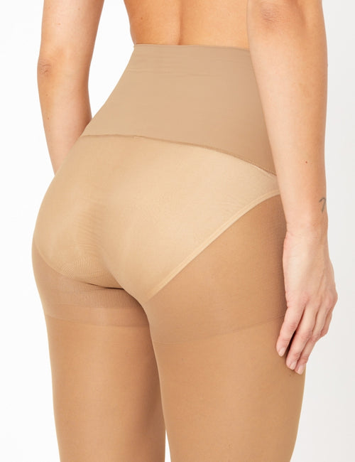 15 Denier Soft Luxe Seamfree Sheer Tights